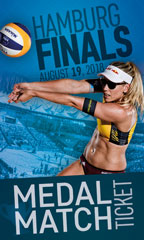 Sunday Medal Match Tickets <small>AUGUST 19</small>